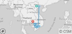 Fascinating Vietnam, Cambodia & the Mekong River with Hanoi & Ha Long Bay (Northbound) 2021 - 12 destinations