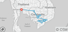 Fascinating Vietnam, Cambodia & the Mekong River with Bangkok (Northbound) - 12 destinations
