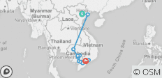 Fascinating Vietnam, Cambodia & the Mekong River with Hanoi & Ha Long Bay (Southbound) - 11 destinations