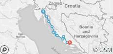Cycle Croatia North Islands And Coast - 12 destinations