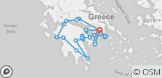 The South Greece Wine Roads (9 days - small group escorted/culinary/cultural) - 27 destinations