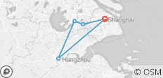 Ultimate 4-Day East China Package: Shanghai, Hangzhou, Suzhou and Watertown - 5 destinations