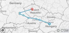 The Blue Danube Discovery with 2 nights in Prague - 8 destinations