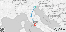 Venice, Florence, Rome: no frills by high speed train - 3 destinations