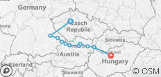 Danube Dreams with 2 Nights in Prague (Eastbound) 2021 - 12 destinations