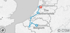 Tulip Time Highlights with 1 Night in Brussels 2021 - 9 destinations