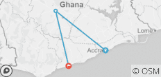 4 Days Tour in Ghana - 4 destinations