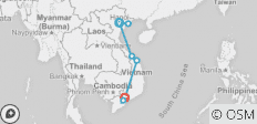 Vietnam Express Southbound - 8 destinations