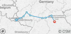Europe\'s Rivers & Castles 2021 Start Luxembourg, End Nuremberg - 9 destinations