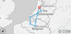 Best of Holland & Belgium 2021 - 9 destinations