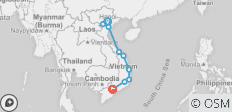Cycle Vietnam - 9 destinations
