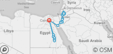 Lights of Jordan and Egypt with Nile Cruise - 20 destinations