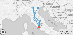 Italia Classica: from Rome to Rome (6 days/5 nights) - 11 destinations