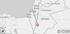 11 Day / 9 Night Christian Israel and Jordan Tour - 2 destinations