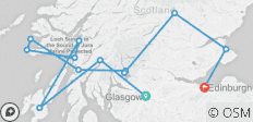Scotland: Isles of Lore & Legend  (Glasgow to Edinburgh) (Standard) - 13 destinations