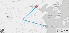 8D Gold Triangle Tour from Shanghai, Xian to Beijing - 3 destinations