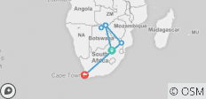 12-Day Victoria Falls, Chobe & South Africa - 6 destinations