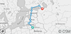Baltic Discovery Tour - 9 destinations