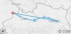 Danube Cycle Path 2020 - The Classic Tour Category B - 9 destinations