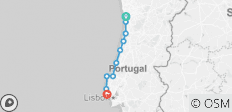 Self-guided Bike Tour from Porto to Lisbon - Silver Coast of Portugal - 10 destinations