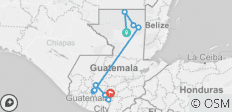 Guatemala: See & Experience it ALL in 11 Days, 1st Class Traveling - 10 destinations