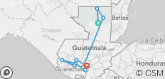 Guatemala: See & Experience it ALL in 8 Days, 1st Class Traveling - 10 destinations