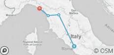 Rome, Florence, Pisa & Cinque Terre hopping by high speed - 4 destinations
