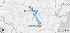 Private 3-Day Best of Romania Tour from Bucharest: Peles Castle, Bran Castle, Bears Sanctuary, Brasov, Sighisoara, Viscri, Rasnov Fortress and Snagov Monastery With Hotel Pick Up Drop Off - 11 destinations