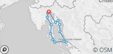 GYR-wonderful cruise through the Adriatic sea on a bike- cruise - 12 destinations