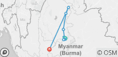 New Burmese Days - 10 Nights (Down Stream) - 9 destinations