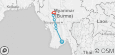 Sri Kestra and Middle Burma - 3 Nights - 6 destinations