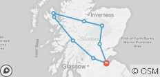 6 Night Hogmanay Hootenanny (package 1) - 9 destinations