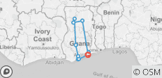 10-Days Sustainable Tour of Ghana - 11 destinations