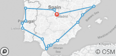 Best Of Spain & Portugal - End Madrid, 2020 2021 (15 Days) - 15 destinations