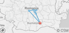 Adventure trip to Transylvania in 3 days from Bucharest - 7 destinations