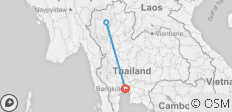 Experience real Bangkok and Chiang mai , Small Group  - 3 destinations