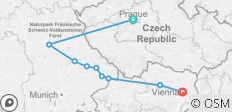 Authentic Danube & Prague (2021) (Prague to Vienna, 2021) - 9 destinations