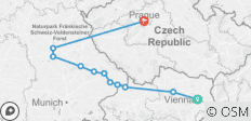 Authentic Danube & Prague (2021) (Vienna to Prague, 2021) - 11 destinations