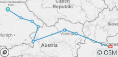 Grand Christmas and New Year\'s (2021) (Nuremberg to Budapest, 2021) - 9 destinations