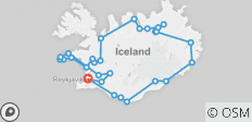 7-Day Guided Ring Road Tour - Explore the Circle of Iceland - 34 destinations