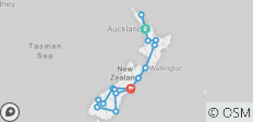 New Zealand Getaway (2021) - 17 destinations
