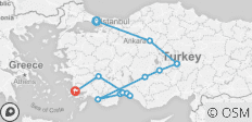 Anatolian Classics Tour - 13 destinations