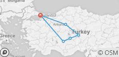 Anatolian Dreams Tour - 7 destinations
