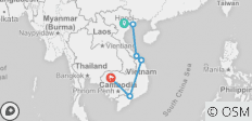 12-Day Vietnam & Cambodia Highlights - 8 destinations
