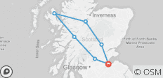 6  Night Hogmanay Hootenanny (package 2) - 7 destinations