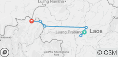 8-Day Upper Mekong River Cruise Through Northern Laos from Luang Prabang to Chiang Rai - 6 destinations