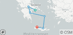 14-Day Greece Mythology trip in mainland & islands - 7 destinations
