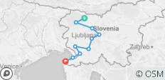 Best of Slovenia Cycling Tour - 10 destinations