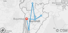 Burundian Adventure Safari 7 Days 6 Nights (Comfort) - 9 destinations