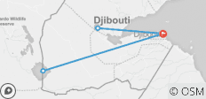 5 Days/ 4 Nights Best of Djibouti Highlights (Comfort Plus) - 3 destinations